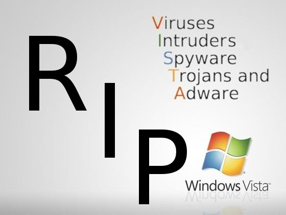 Windows Vista RIP